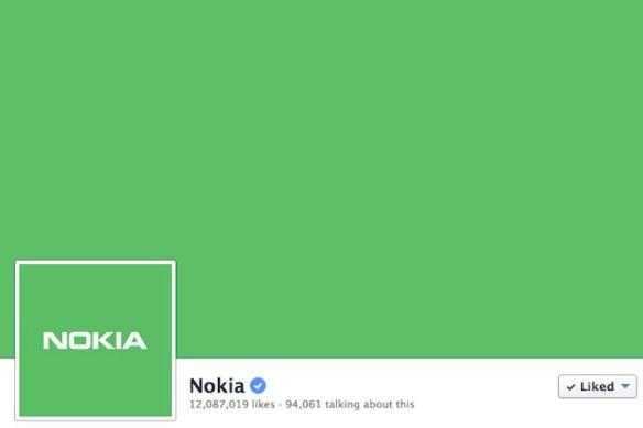 Nokia-Green-Facebook